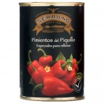 Red 'Piquillo' Peppers (Whole) - Conservas Serrano (Tin - 390 g)