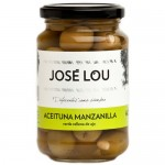 'Manzanilla' Olives Stuffed with Garlic - José Lou (355 g)