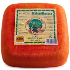 Semi-Cured Cow Cheese 'Mahon-Menorca' - Merco